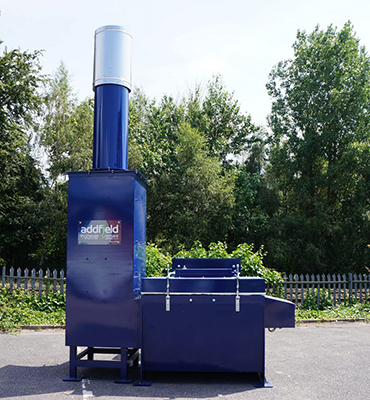 Waste Incinerator - Made in the UK