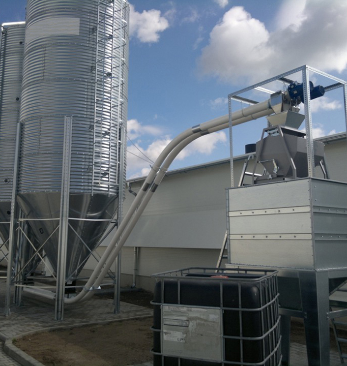 Continuous Batch Feed Weigher with Silo