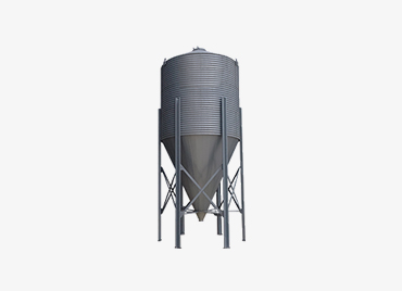 Feed Storage, Grain Silos for Poultry, Chicken, Broiler Farms