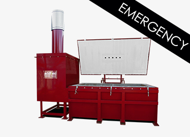 Addfield GM1300 Emergency Medical Incinerator