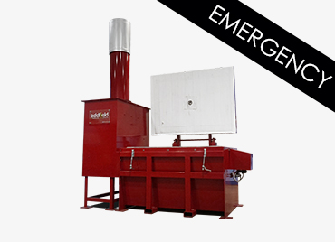 Addfield GM750 Emergency Medical Incinerator
