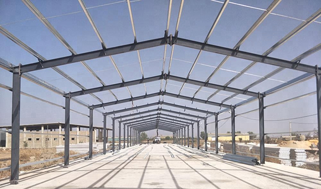 Poultry Farms Steelwork Material and Construction